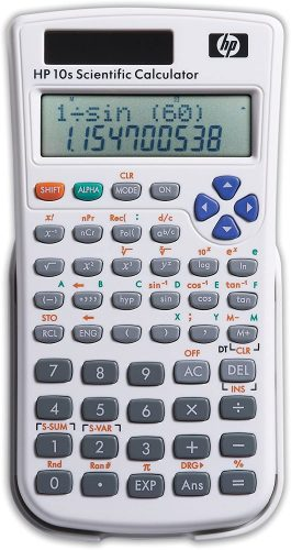 HP 10s Scientific Calculator