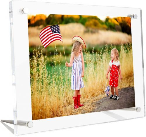 Clear Acrylic Picture Frame TableTop