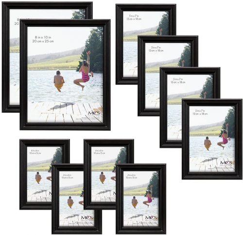 MCS 10pc Multi Pack Picture Frame Value Set