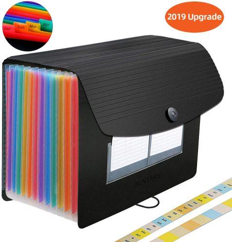 8. Expanding File Folders - Plastic File Folders