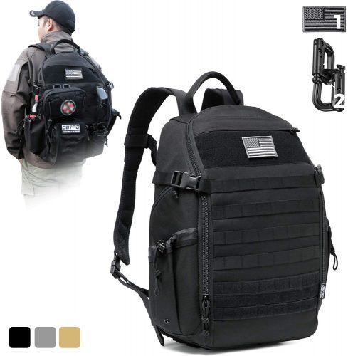 2. DBTAC Tactical Backpack Molle Hiking Daypack