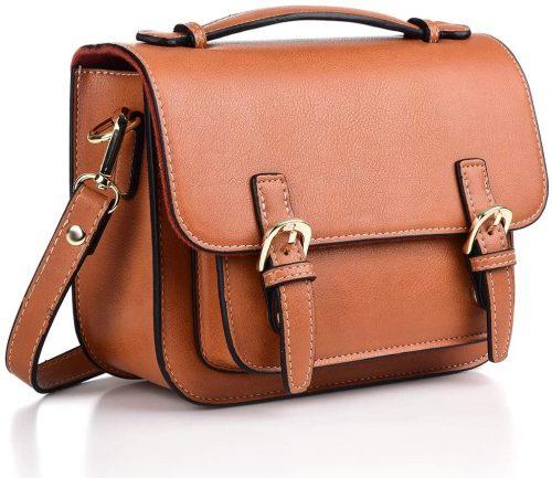 Katia Retro Vintage PU Leather Bag Compatible