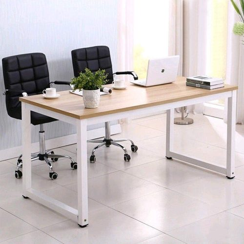 "7. Mecor 43"" Large MDF Computer Office Desk"