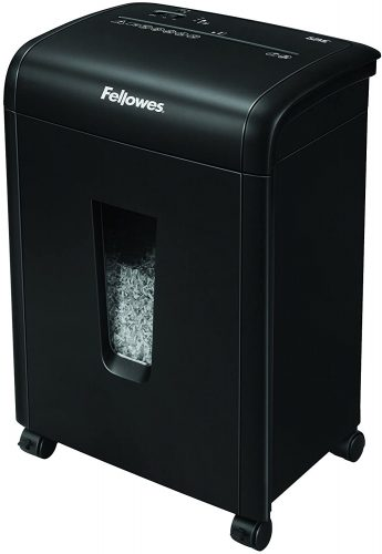 Fellowes 62MC 10-Sheet Micro-Cut - Heavy Duty Paper Shredder