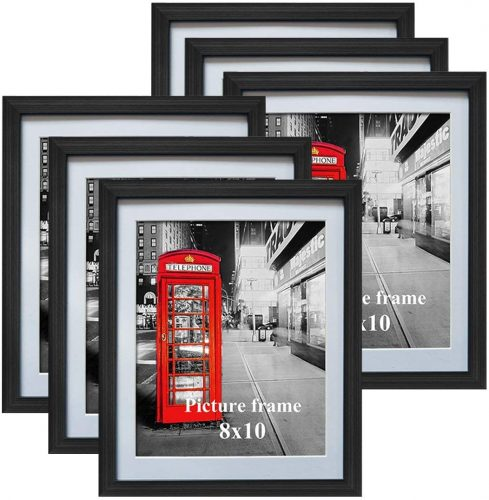 Amazing Roo 8x10 Black Picture Frames