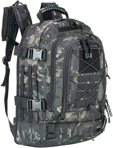 9. Expandable Backpack 39L-64L Large Military Tactical Bug