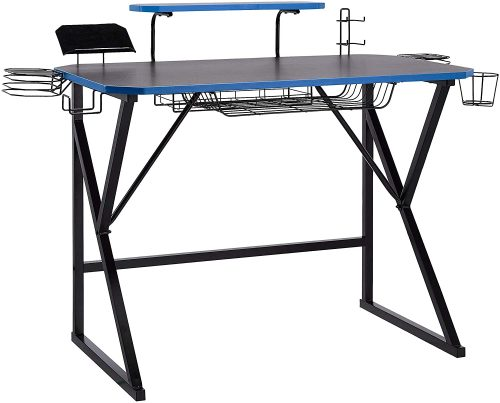 8. AmazonBasics Gaming Computer Desk