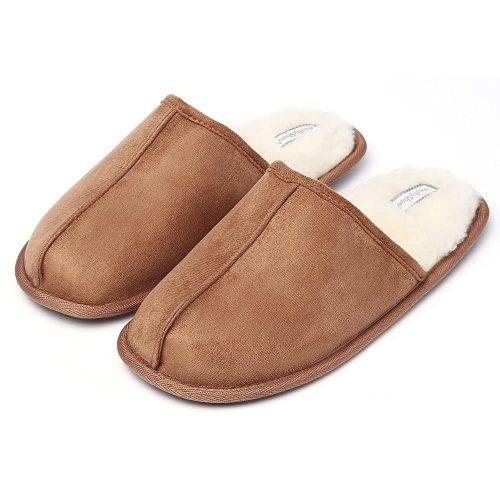 8. KushyShoo Men's Slippers - Slipper For Office