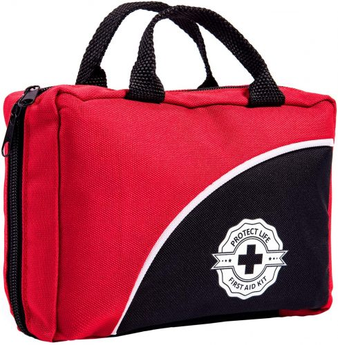 First Aid Kit - 160 Piece - for Car, Travel