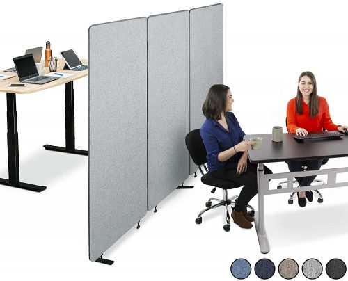 5. Stand Steady ZipPanels Office Partition