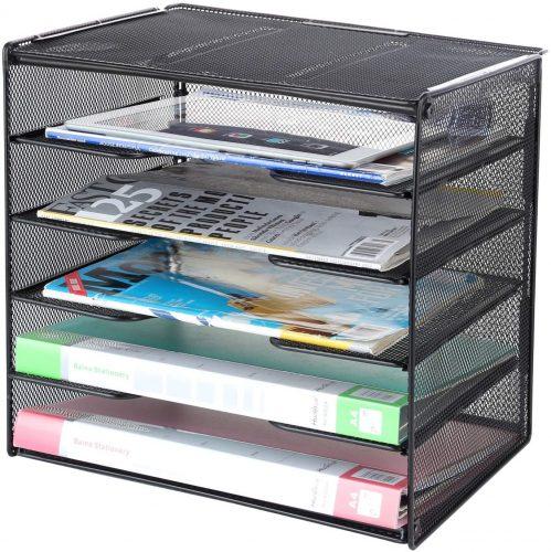 Samstar Mesh Desk File Organizer