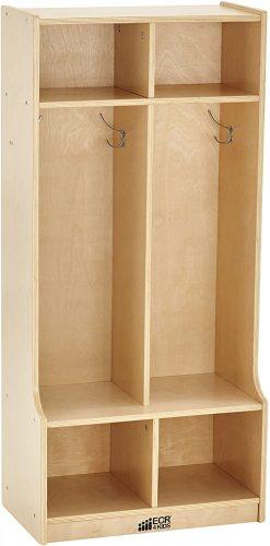 ECR4Kids Birch School Coat Locker - Storage Locker
