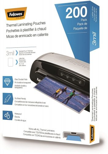 6. Fellowes Thermal Laminating Pouches - Laminate Paper