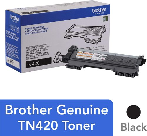 4. Brother TN420 Toner Cartridge
