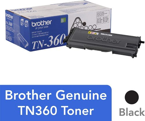 5. Brother TN360 High Yield Toner Cartridge