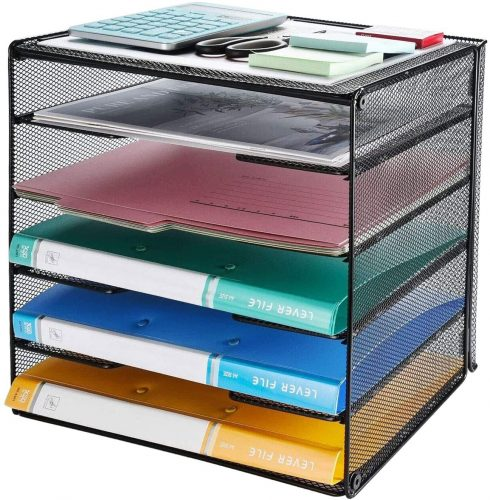Veesun Mesh Desk File Organizer