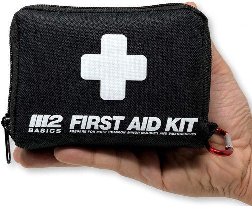 M2 BASICS 150 Piece First Aid Kit w/Compact Bag