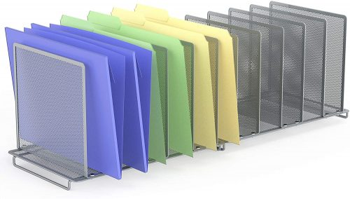 SimpleHouseware File Sorter - Filing Cabinet Divider