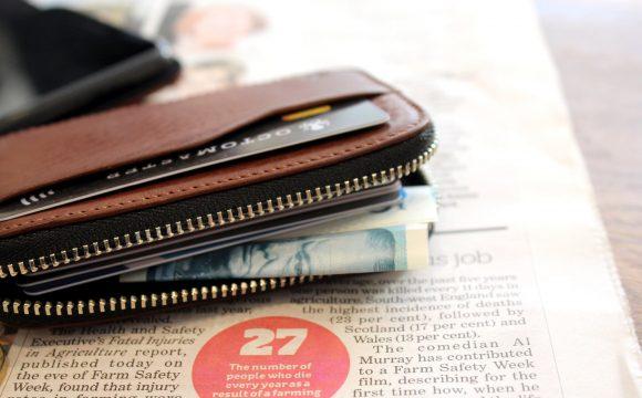 Men Zipper Wallet