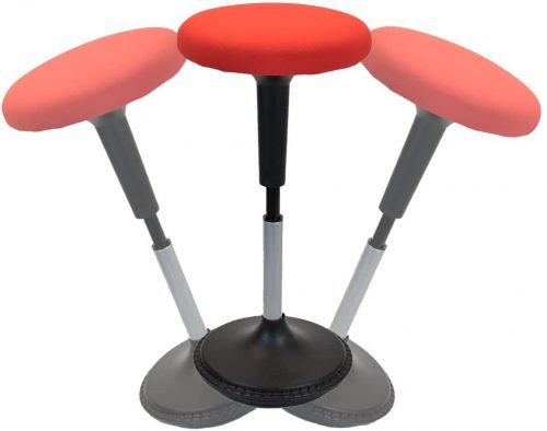 7. Wobble Stool standing desk chair for active sitting modern