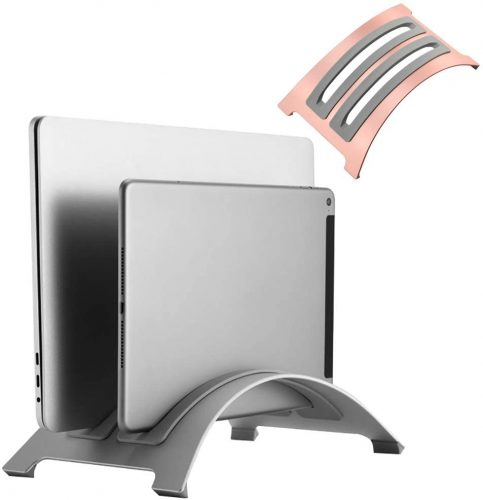 1. YNAYG Laptop Stand Vertical Laptop Stand