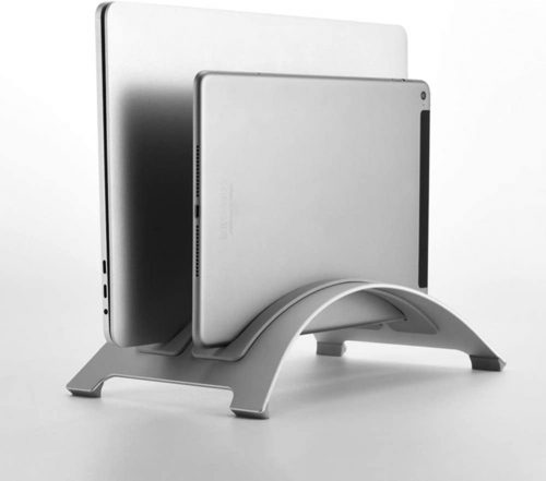 2. TCZ1557 Vertical Laptop Stand Holder,Portable Laptop Stand