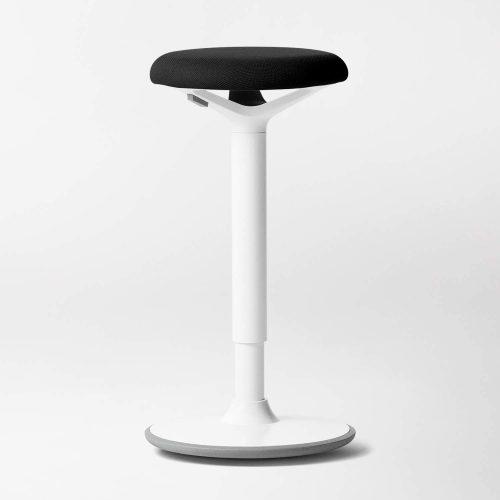 1. Luna Standing Desk and Task Stool - Ergonomic Balance Office Chair