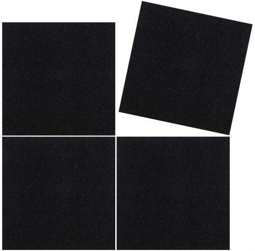 6. TRILUC, 12 x 12 Place and Stick Carpet Tile Square