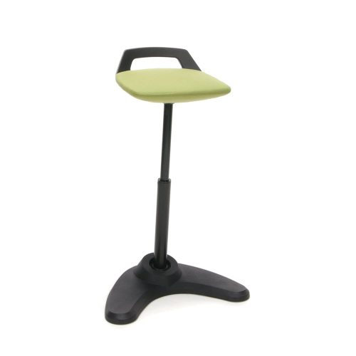 3. OFM VIVO Adjustable Height Bar Stool - Contemporary Perch Stool Chair