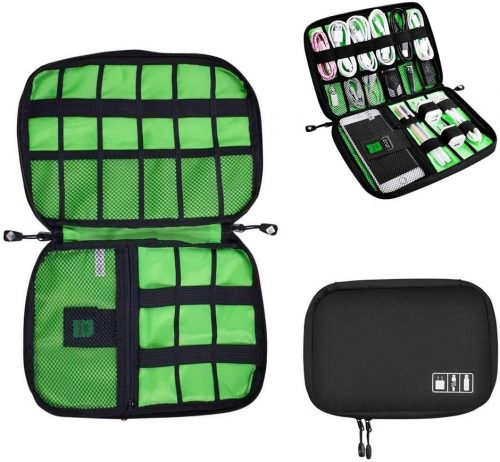 10. Universal Cable Organizer Bag for Travel and Houseware Storage