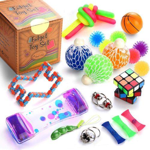 4. Sensory Fidget Toys Set, 25 Pcs., Stress Relief