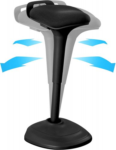 6. Wobble Stool Chair Standing Desk Chair