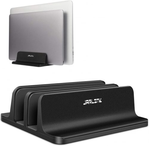 8. JARLINK (Upgraded Dock Version) Vertical Laptop Stand