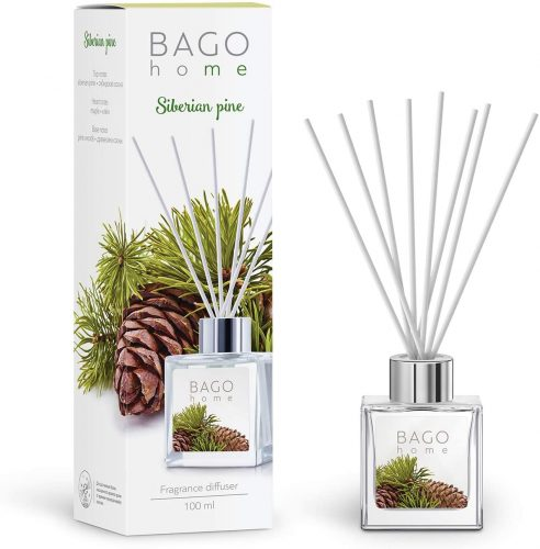 BAGO home Fragrance Oil Reed Diffuser Set  | Bathroom Freshener