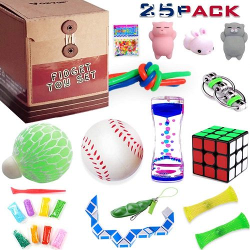6. Fidget Toys set, Sensory toys pack for Stress Relief