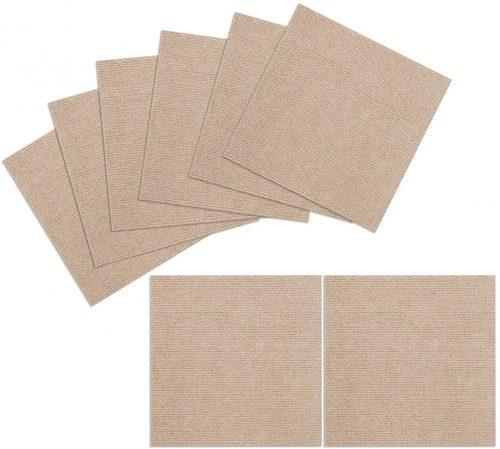 8. TRILUC, 12 x 12 Place and Stick Carpet Tile Square