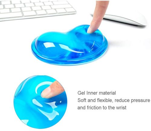 INNERNEED Soft Silicone Gel Mouse Wrist Rest