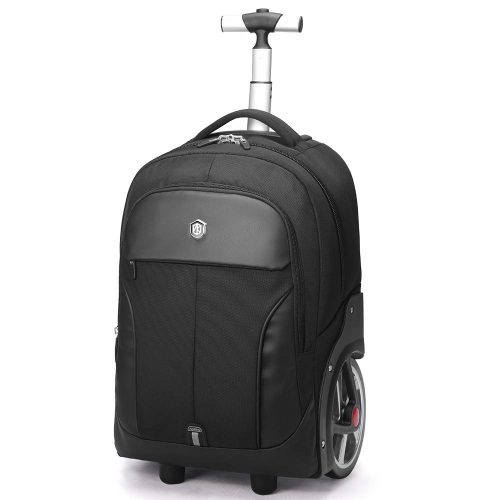 1.Aoking Rolling Travel Backpack Large Wheeled Rucksack Laptop