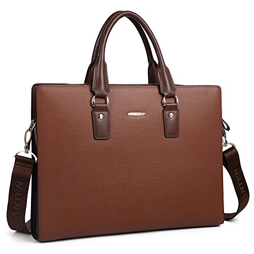 BOSTANTEN Leather Lawyers Briefcases