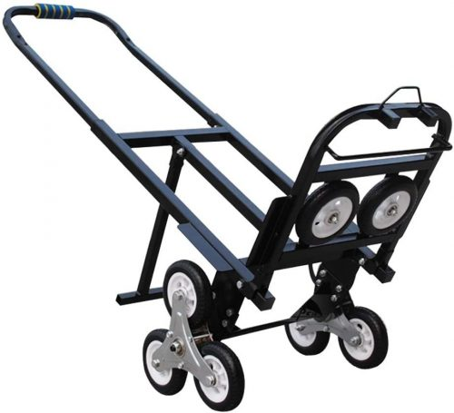 INTBUYING Foldable Folding Portable Stair Climbing Hand Truck Luggage  Luggage Trolleys