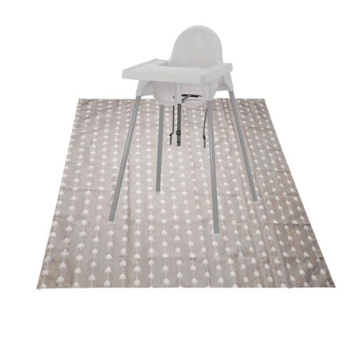Baby Washable Spill Mat Multipurpose Splat Mat, Waterproof Carpets