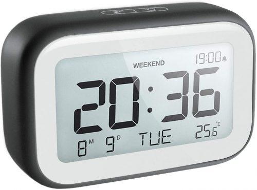 HAPTIME Digital Alarm Clock for Travel