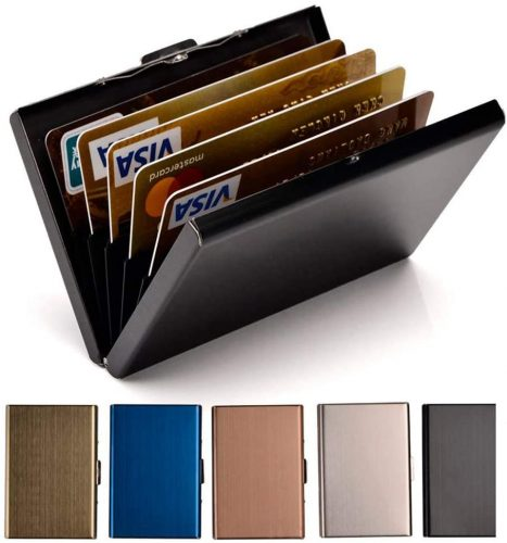 Credit Card Holder Stainless Steel Credit Card Case Metal