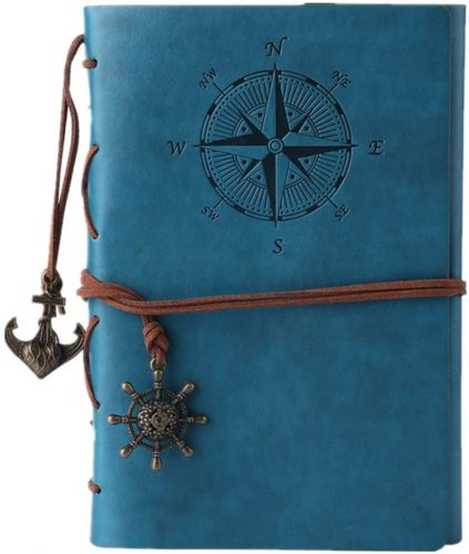 10. Leather Writing Journal Notebook