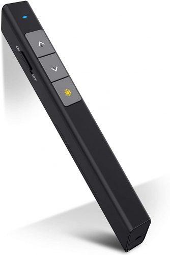DinoFire Presentation Clicker 100FT Wireless Presenter pointer