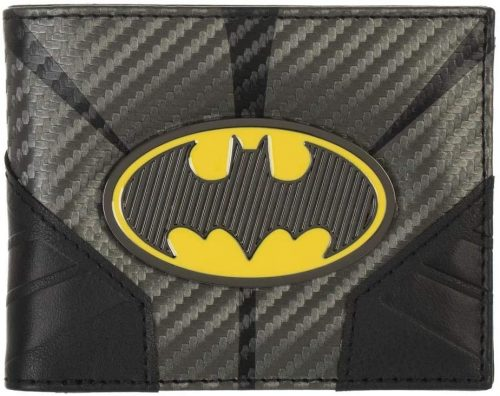 DC Comics Batman Metal Badge Bifold Wallet