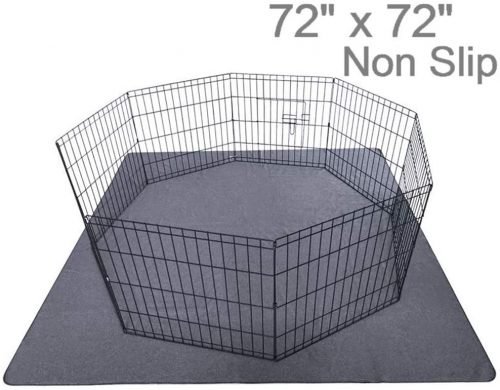 "Upgrade Non-Slip Dog Pads Extra Large 72"" x 72"" Waterproof Carpets"