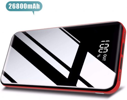8. Todamay Power Bank 26800mAh Portable Charger High Capacity