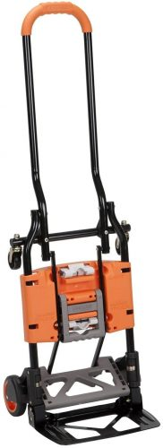 Cosco Shifter 300-Pound Capacity Multi-Position Folding Hand Truck   Luggage Trolleys