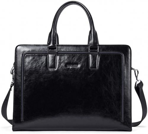 BOSTANTEN Women Genuine Leather Briefcase